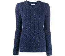 Schimmernder Pullover
