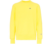Sweatshirt mit gerippten Einsätzen