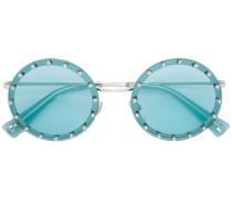 Kristallverzierte Sonnenbrille