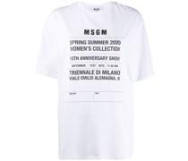 'SS20' T-Shirt im Oversized-Look