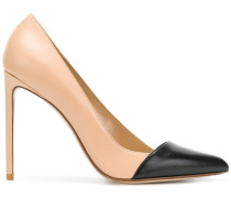 Decollete bi colour pumps