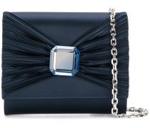 bow detail clutch bag