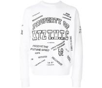 Property of  printed sweatshirt