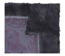 Schal mit Quadrat-Print