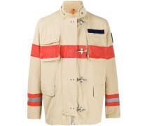 Jacke mit breiten Streifen