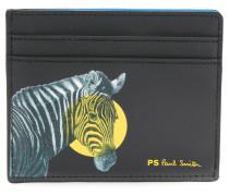 Kartenetui mit Zebra-Print