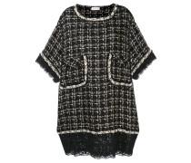 Tweed-Kleid im Oversized-Look