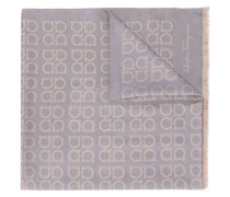 Schal mit Gancini-Muster