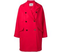 Mantel mit gesteppter Rückseite