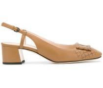 buckle sling back sandals