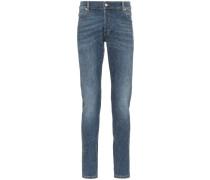 Skinny-Jeans mit Strass