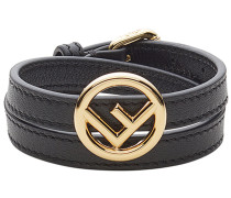 'F is ' Lederarmband