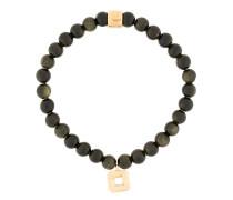 'Obsidian' Armband aus Gold-Vermeil