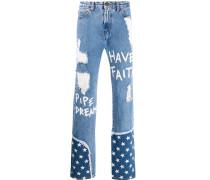 NTMB Stars straight jeans