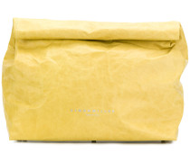roll top clutch bag