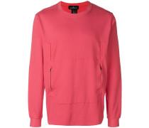 zipped pocket sweatshirt