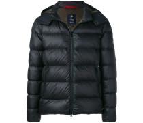 detachable hood padded jacket