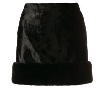 Minirock aus Seide