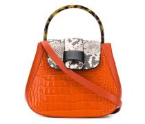 Mini 'Myria' Handtasche mit Kroko-Effekt