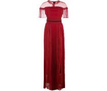 'Harui' Kleid mit Stickerei