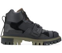 Hiking-Boots mit Logo-Riemen