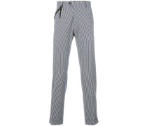 cuff striped  trousers