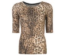 Oberteil mit Leoparden-Print