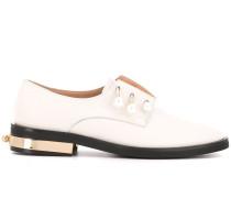 Strassverzierte Loafer