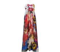 Seiden-Jumpsuit mit floralem Print