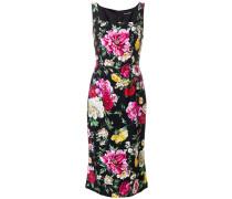 Schmales Kleid mit Blumenmuster