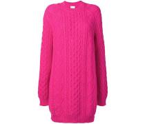 oversized knitted dress