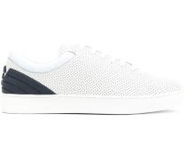 'Tennis' Sneakers mit Perforierung