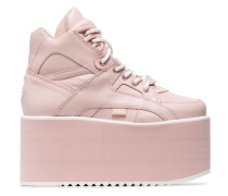 High-Top-Sneakers mit Flatform-Sohle
