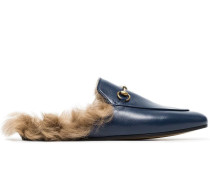 Princetown Loafer mit Shearling-Futter