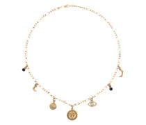 Vergoldete 'Chakra' Halskette