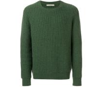 Honeycomb cashmere jumper