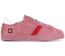 D.A.T.E. Sneakers mit Glitzer