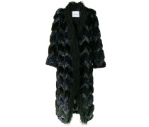 embellished long coat