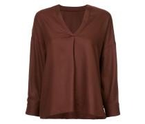 long-sleeve flared sweater