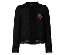 Sacred heart tweed jacket