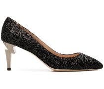 Pumps im Glitter-Look