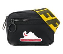 Equipment logo patch belt bag
