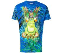 frog print T-shirt