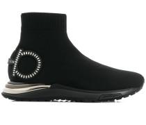 Sneakers mit Gancini-Detail