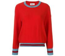 Pullover mit Streifenborten