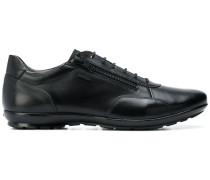 Oxford-Sneakers aus Leder