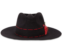 'Ojo Caliente' Hut mit Kontrastnähten