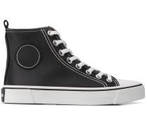 High-Top-Sneakers in Satin-Optik