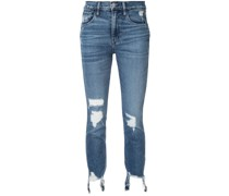 Gerade 'Authentic' Cropped-Jeans