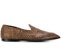 Handgewebte Loafer